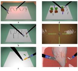 شبیه ساز مهارتهای پایه و پیشرفته جراحی لاپاروسکوپی