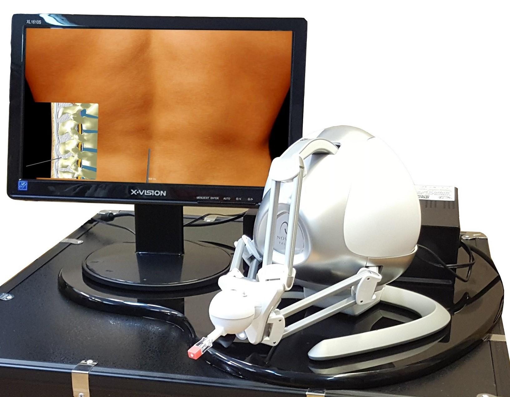 سامانه رباتیکی ارزیابی مهارت تزریقات نخاعی در محیط مجازی با حس لامسه