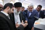 بازدید رهبر معظم انقلاب اسلامی از دستاوردهای هفت شرکت حاضر در نمایشگاه تجهیزات و مواد آزمایشگاهی ساخت ایران