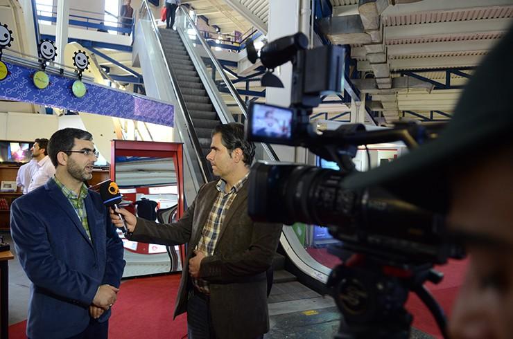 حضور شبکههای خبری و تلویزیونی در محل برگزاری نمایشگاه؛ هماکنون