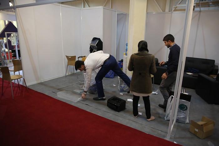 در میان غرفه ها؛ ساعات پایانی ششمین نمایشگاه تجهیزات و مواد آزمایشگاهی ساخت ایران